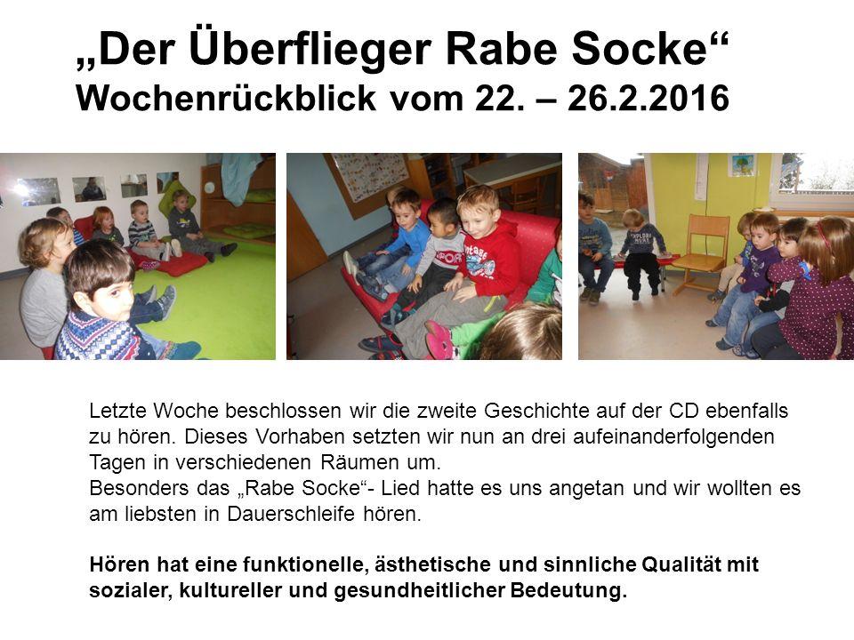 """""""Der Überflieger Rabe Socke Wochenrückblick vom 22."""