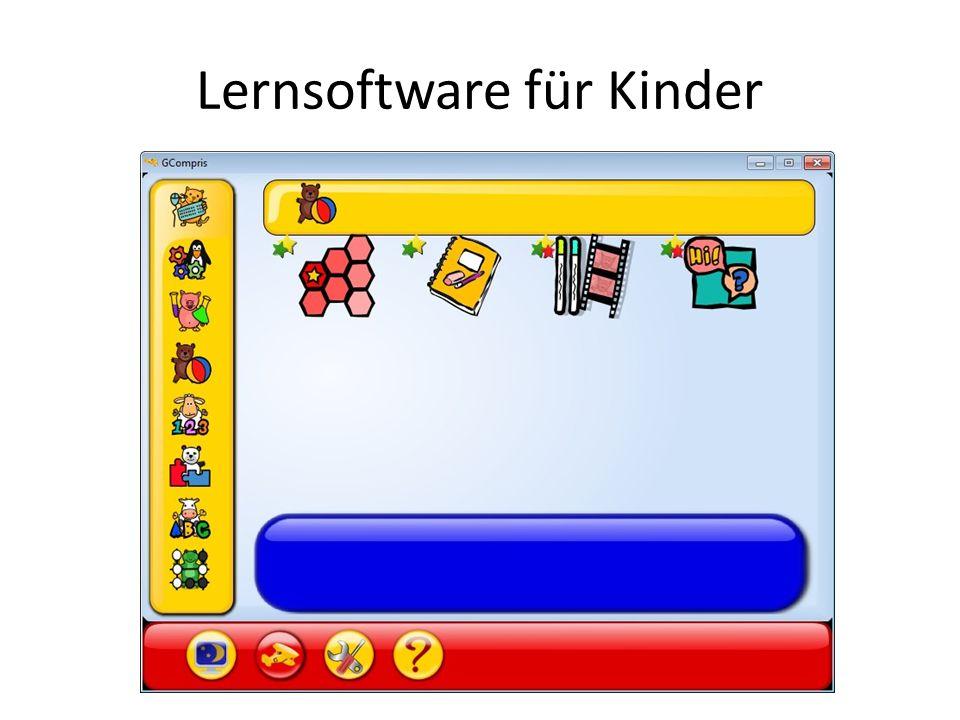 Lernsoftware für Kinder