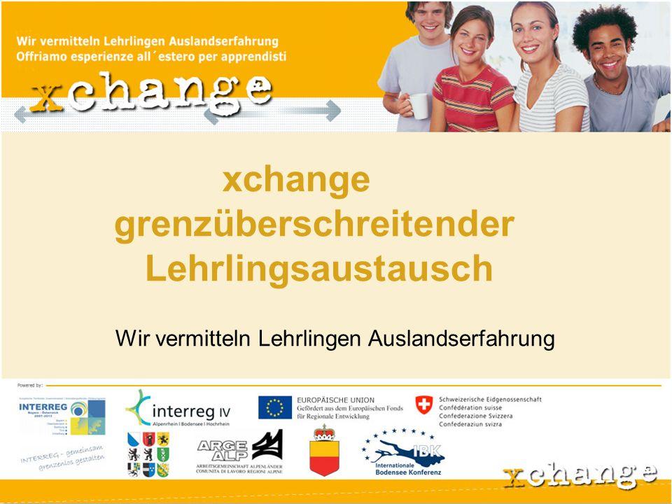 xchange bietet Auszubildenden die Chance, vier Wochen der betrieblichen Ausbildung in einem Unternehmen im Ausland zu absolvieren.