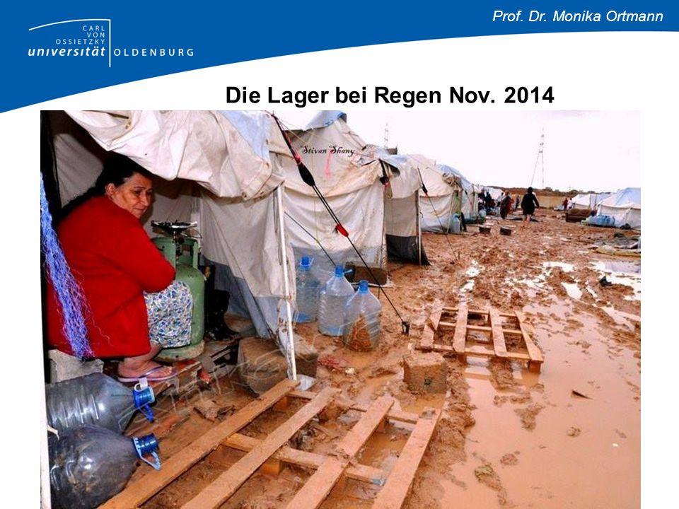 Prof. Dr. Monika Ortmann Die Lager bei Regen Nov. 2014
