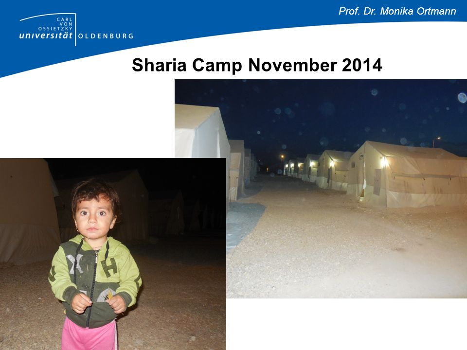 Prof. Dr. Monika Ortmann Sharia Camp November 2014