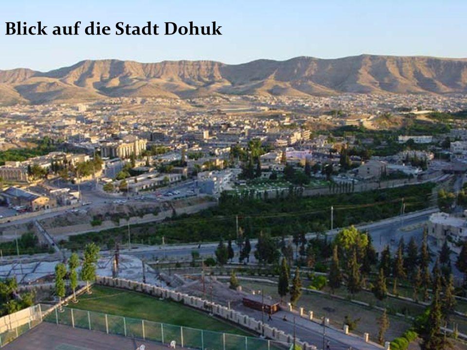 Blick auf die Stadt Dohuk