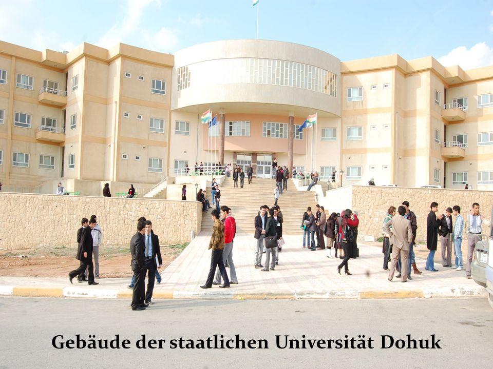 Prof. Dr. Monika Ortmann Gebäude der staatlichen Universität Dohuk