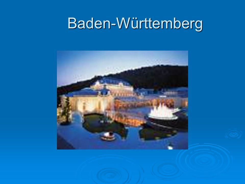 Land Baden-Württemberg  Baden-Württemberg ist ein Land im Südwesten der Bundesrepublik Deutschland.
