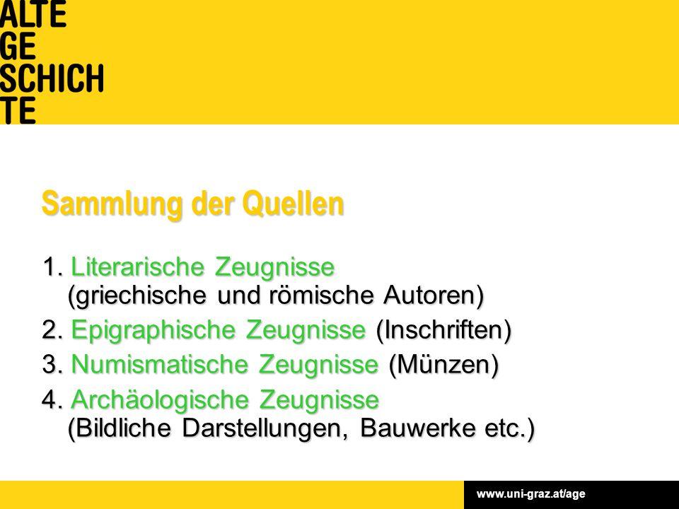 www.uni-graz.at/age Sammlung der Quellen 1.