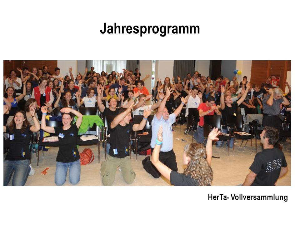 Jahresprogramm HerTa- Vollversammlung