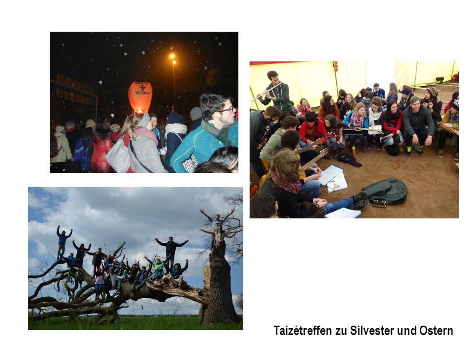 Taizétreffen zu Silvester und Ostern
