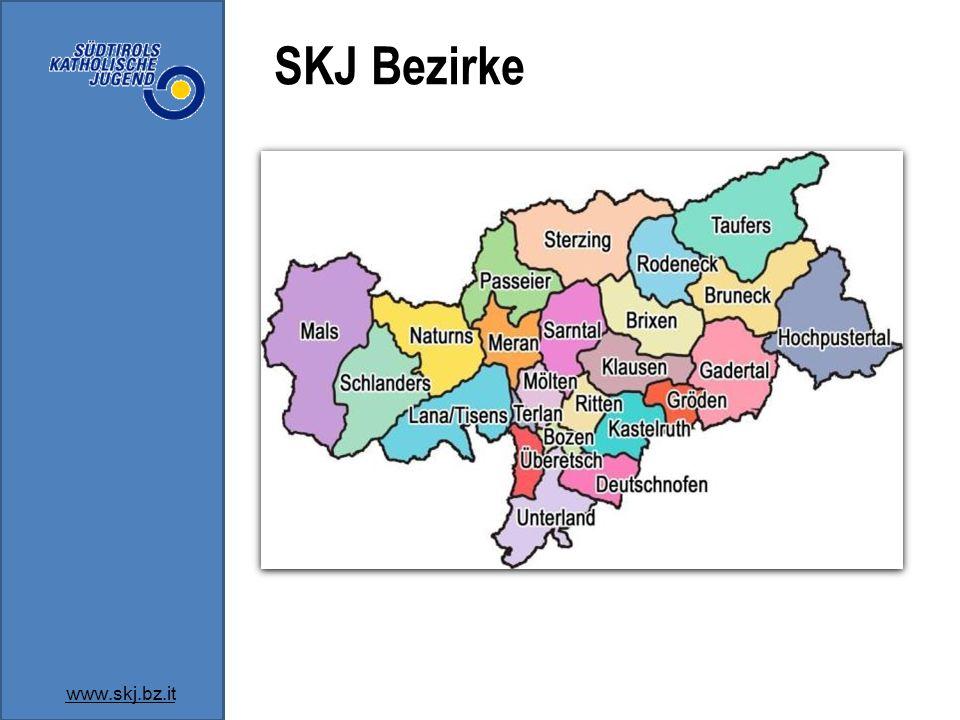 SKJ Bezirke www.skj.bz.it