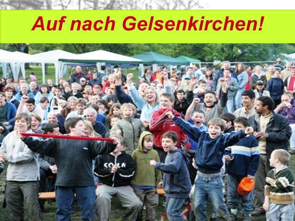 Auf nach Gelsenkirchen!