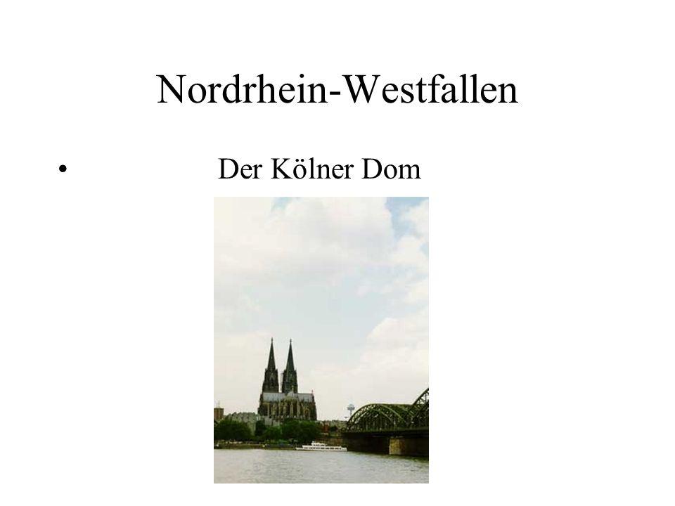 Nordrhein-Westfallen Der Kölner Dom
