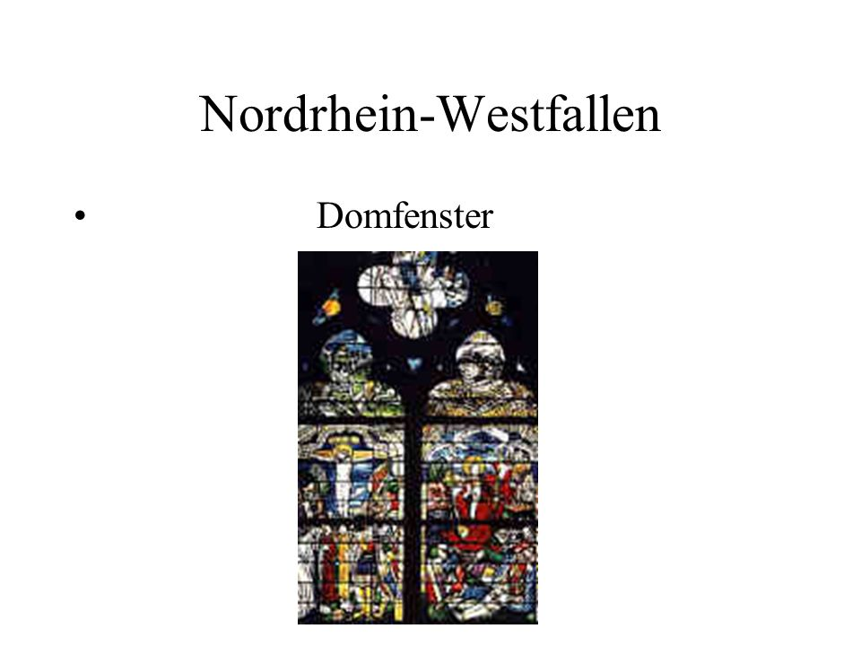 Nordrhein-Westfallen Domfenster