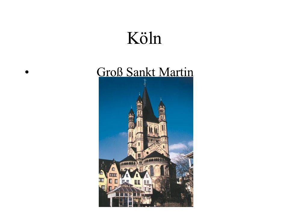 Köln Groß Sankt Martin