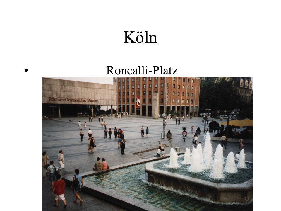 Köln Roncalli-Platz