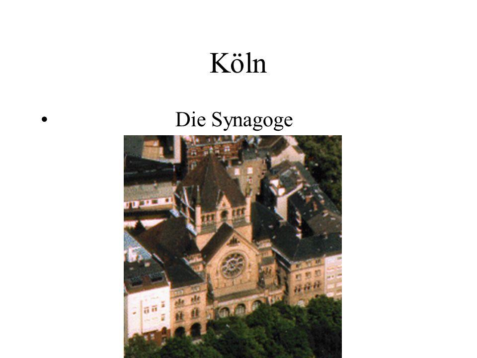 Köln Die Synagoge