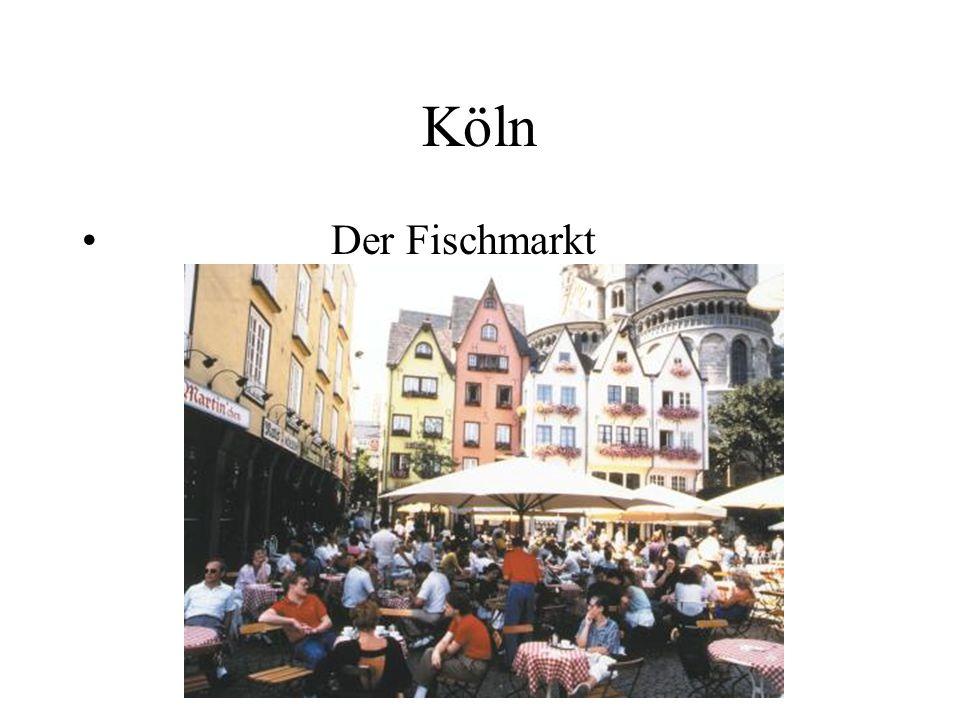 Köln Der Fischmarkt