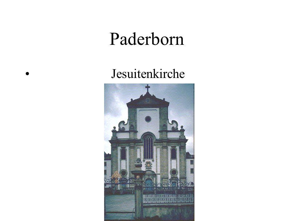 Paderborn Jesuitenkirche