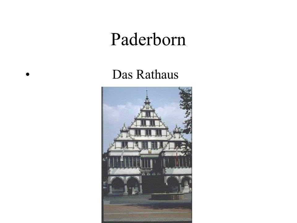 Paderborn Das Rathaus