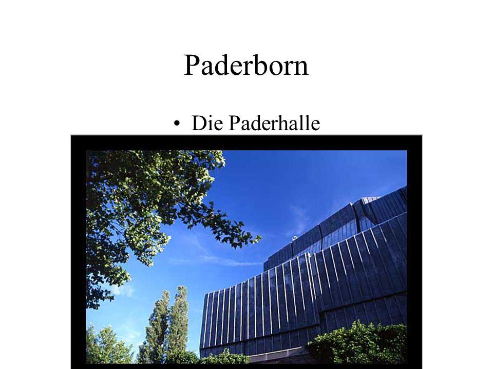 Paderborn Die Paderhalle