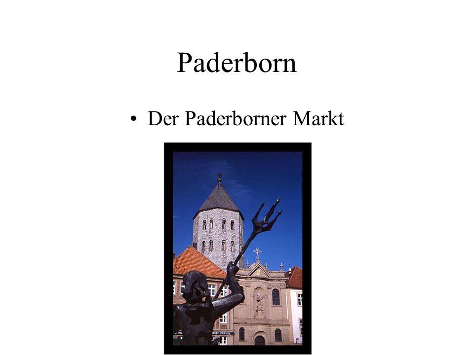 Paderborn Der Paderborner Markt