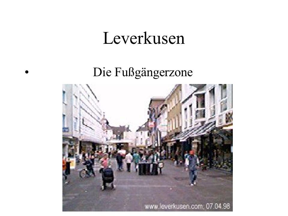 Leverkusen Die Fußgängerzone