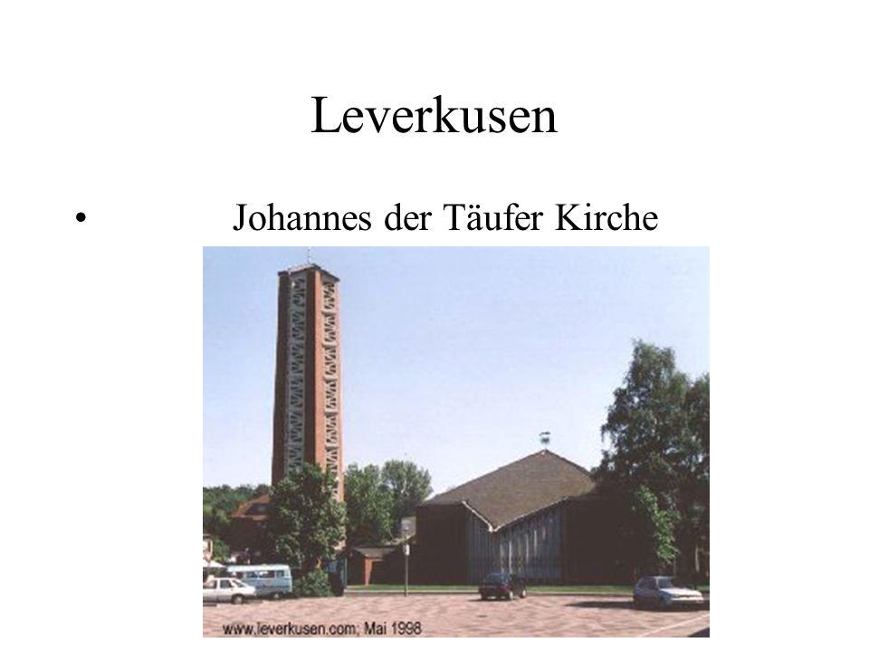 Leverkusen Johannes der Täufer Kirche
