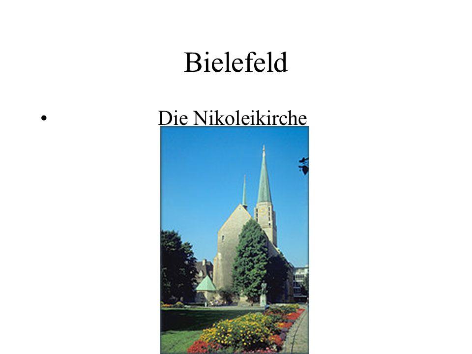 Bielefeld Die Nikoleikirche