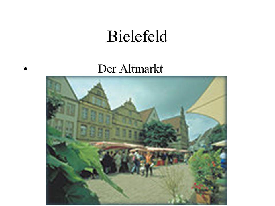 Bielefeld Der Altmarkt