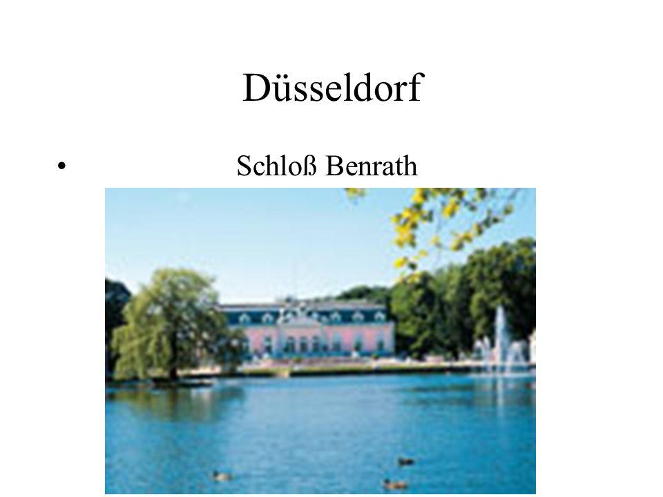 Düsseldorf Schloß Benrath