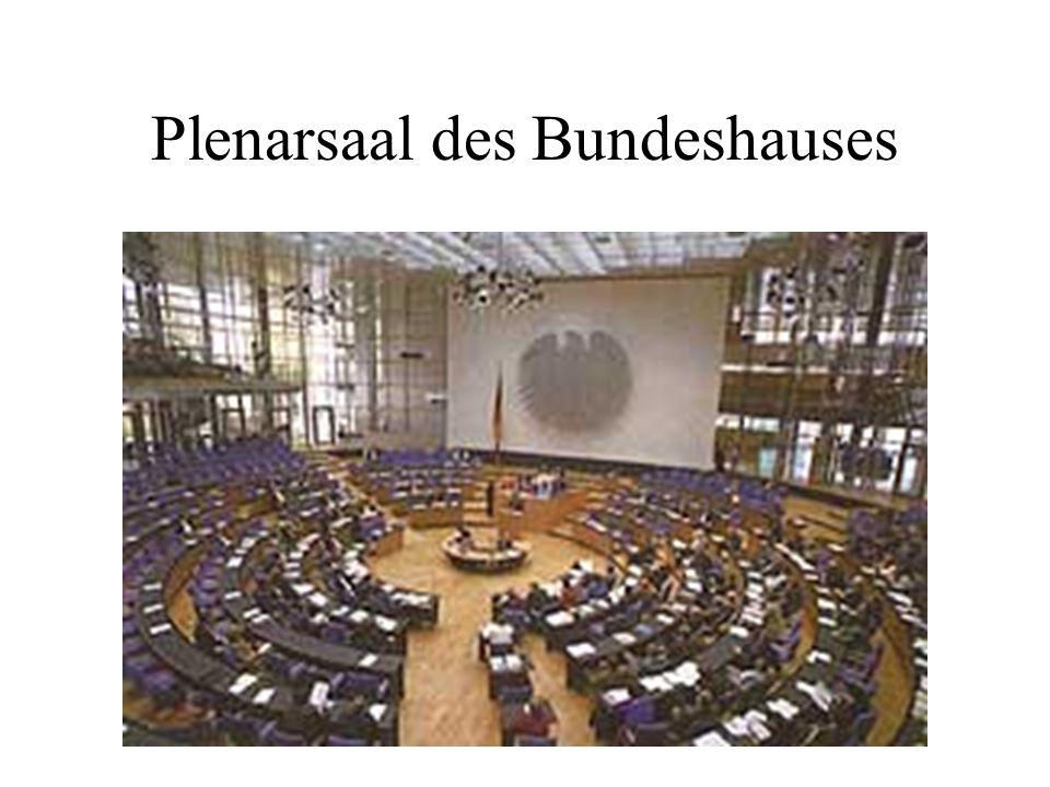 Plenarsaal des Bundeshauses