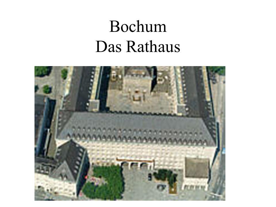 Bochum Das Rathaus