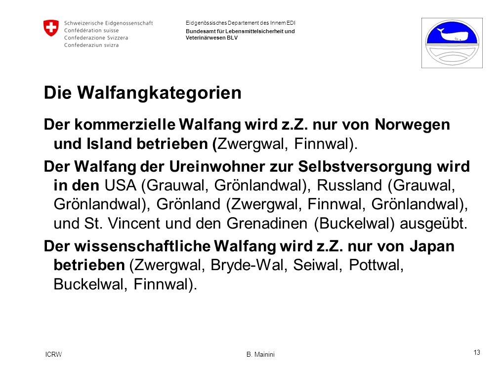 13 ICRW B.