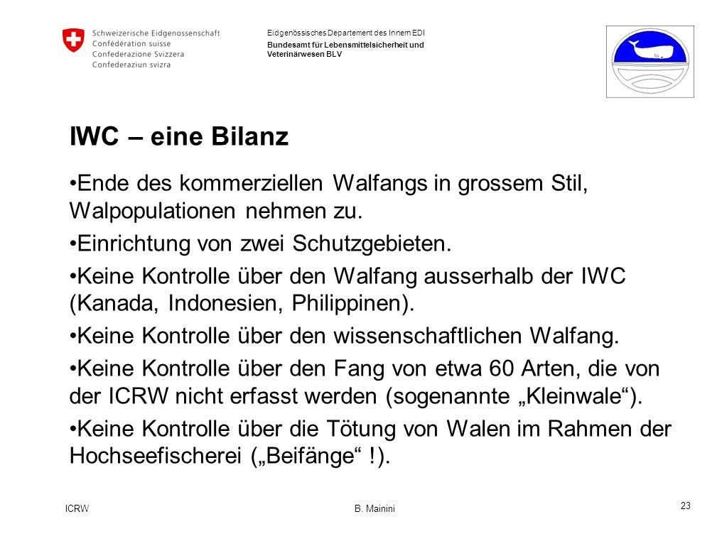 23 ICRW B.