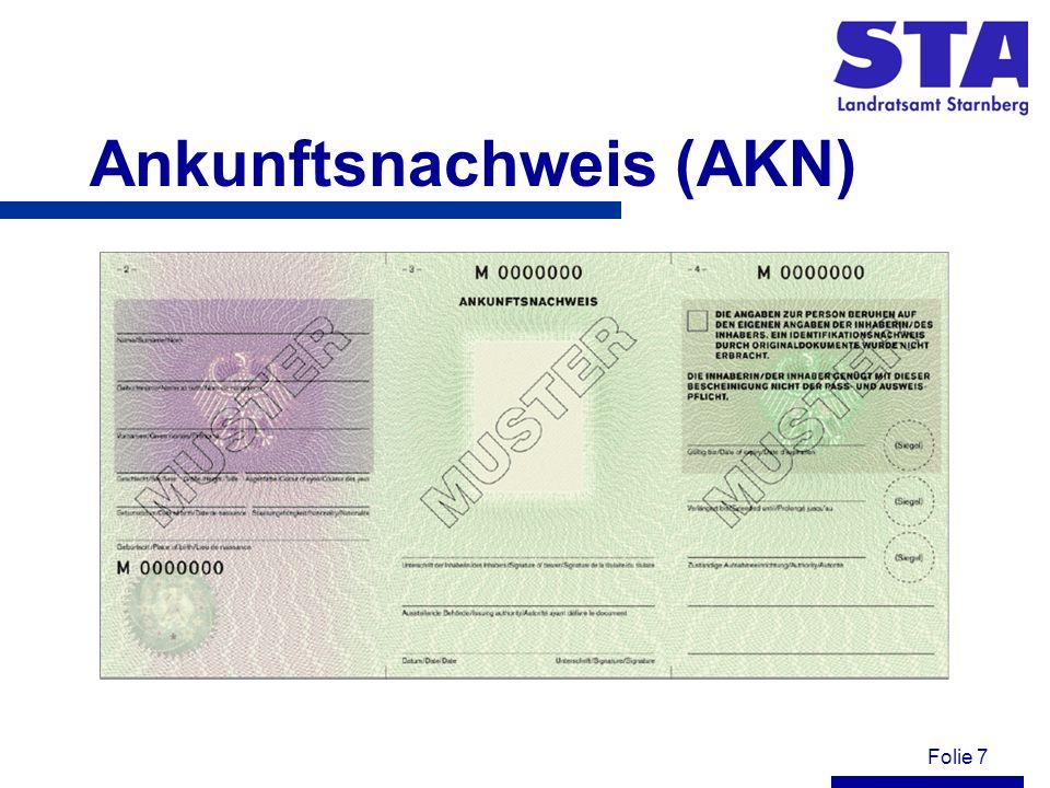 Folie 18 Unterbringung Die Asylbewerber sind verpflichtet in den Ihnen zugewiesenen Unterkünften zu wohnen.