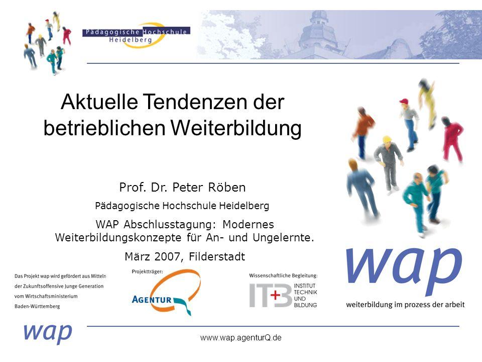 www.wap.agenturQ.de Prof. Dr.