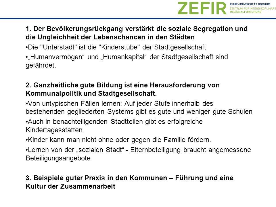 31.05.2016Prof.Dr. Klaus Peter Strohmeier13 Kinder nachhaltig fördern geht nicht ohne die Familie.