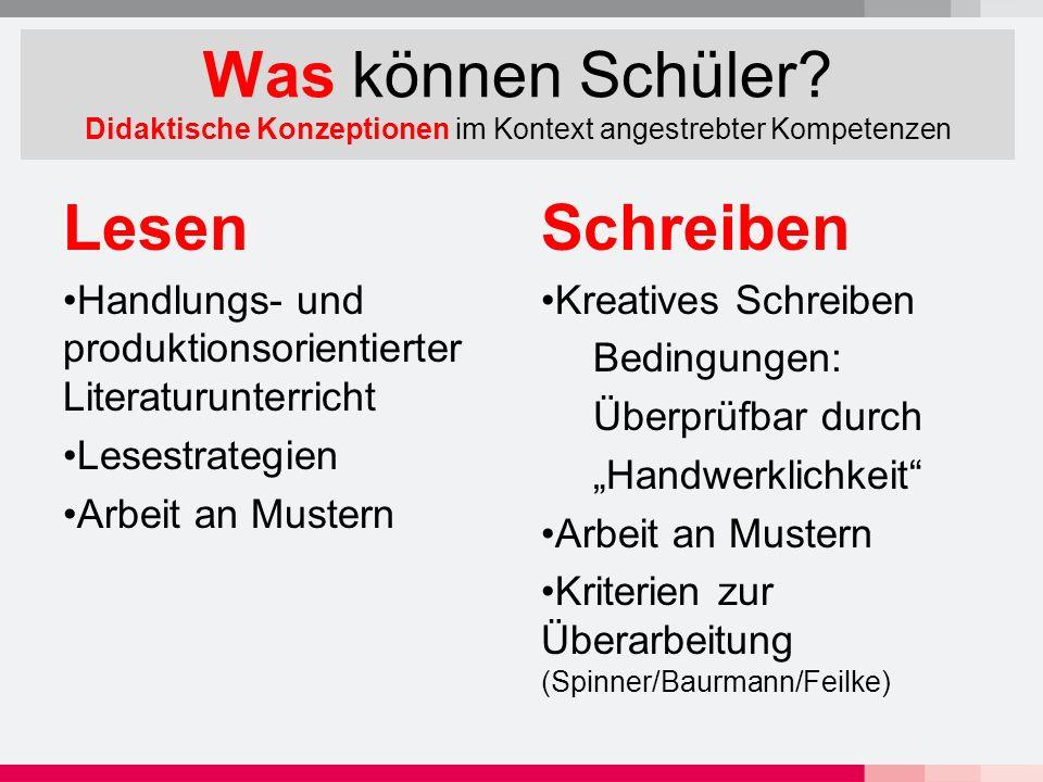 Konkrete Beispiele.Lesen Max Frisch: Überraschung Kl.