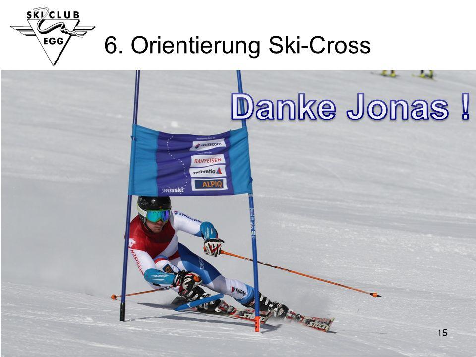 15 6. Orientierung Ski-Cross