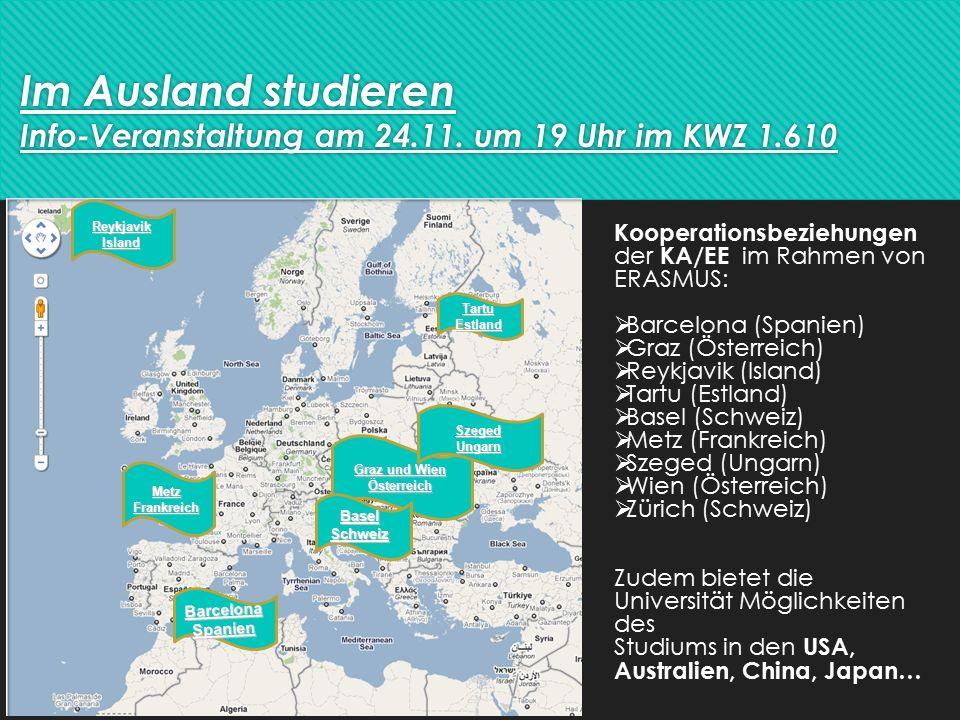 Im Ausland studieren Info-Veranstaltung am 24.11.