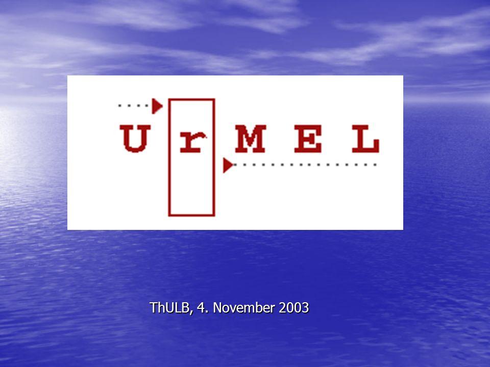 ThULB, 4. November 2003
