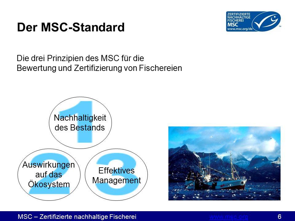 MSC – Zertifizierte nachhaltige Fischereiwww.msc.org 37www.msc.org CHECKLISTE für die Freigabe von Materialien:  Genehmigungsformular zu allen MSC-Artikeln ist komplett ausgefüllt  Formular wurde gemeinsam mit Materialien, Produktabbildungen (ggf.