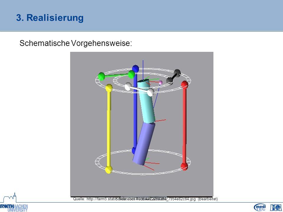 3. Realisierung Schematische Vorgehensweise: Quelle: http://farm5.static.flickr.com/4036/4422288394_7954e82c84.jpg(Bearbeitet)Screenshot FixateurCalcu