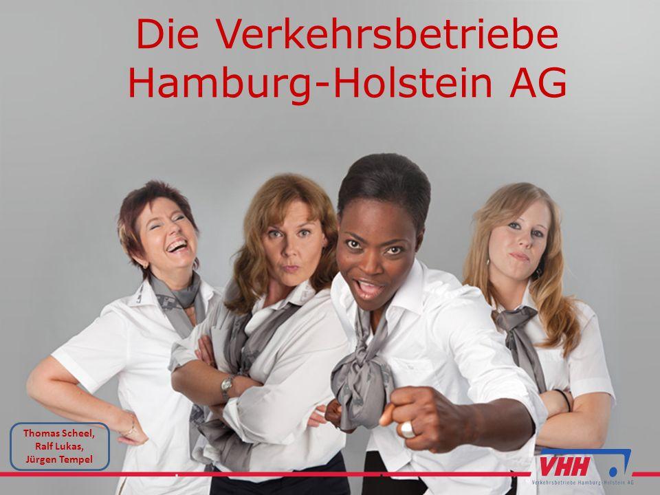 Die Verkehrsbetriebe Hamburg-Holstein AG Thomas Scheel, Ralf Lukas, Jürgen Tempel