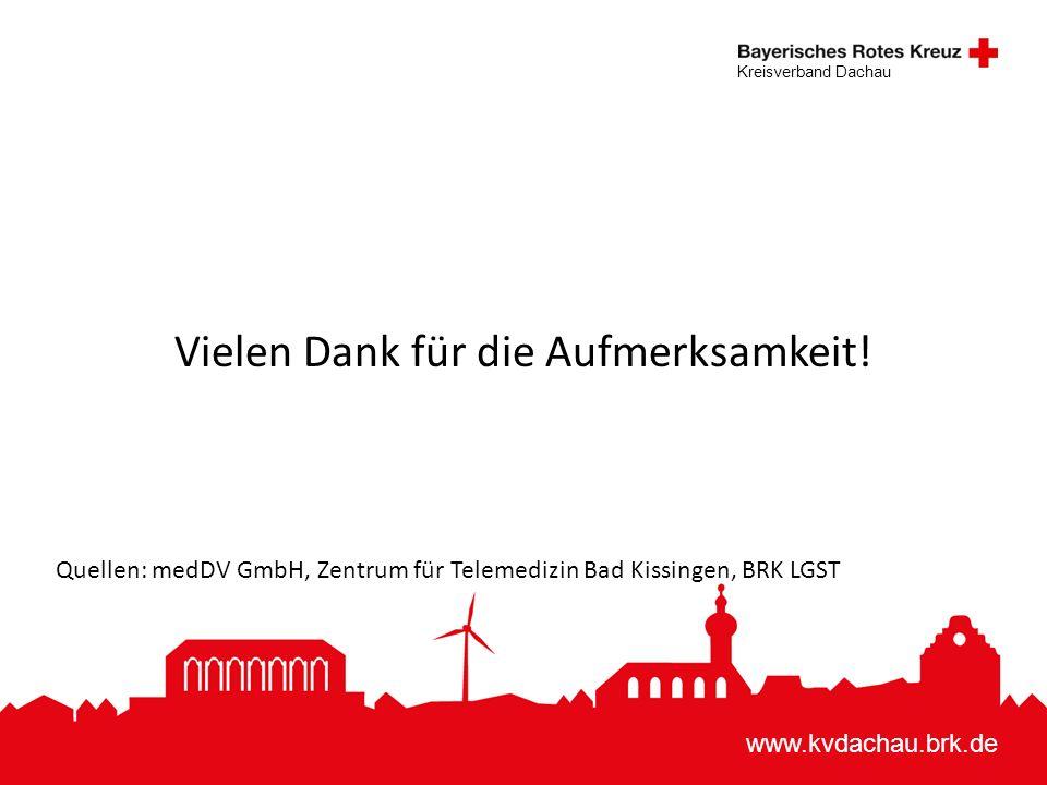 www.kvdachau.brk.de Kreisverband Dachau Vielen Dank für die Aufmerksamkeit.