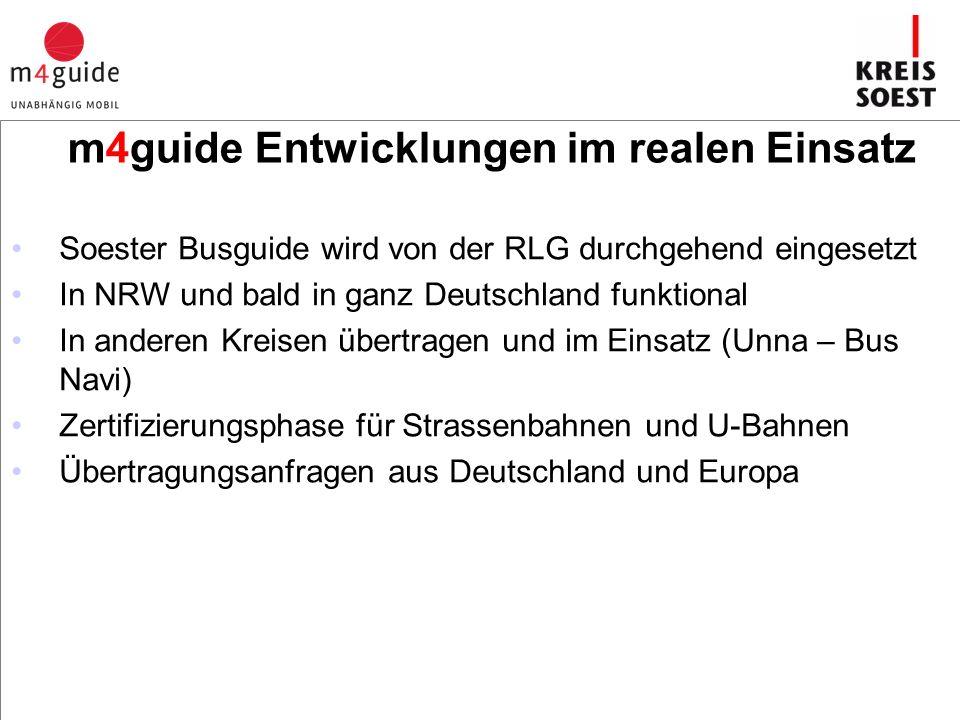 """Fazit m4guide hat den Kernpunkt der Anforderungen multimodaler Wegeketten von """"Tür zu Tür getroffen und eine Signalwirkung zur Erreichung der Barrierefreiheit für Deutschland und Europa eröffnet."""