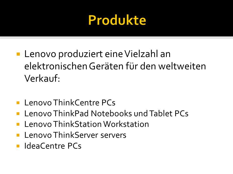  Was ist Lenovo. Wo ist der Hauptsitz von Lenovo.