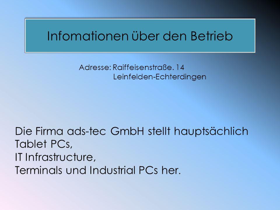 Infomationen über den Beruf Industrie-Design Im Beruf Industrie-Design sind Tablet PCs, IT Infastructure, Terminals, Industrial PCs bereits entstanden.