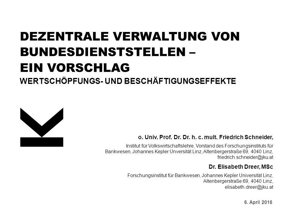 o. Univ. Prof. Dr. Dr. h. c. mult.
