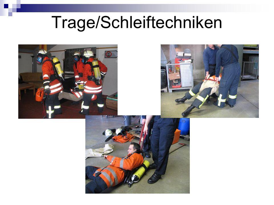 Trage/Schleiftechniken