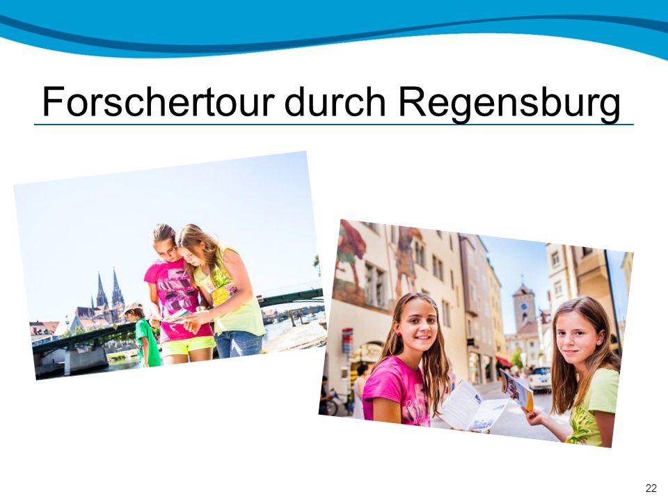 Forschertour durch Regensburg 22