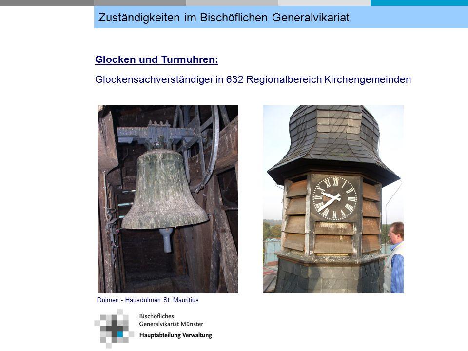 Glocken und Turmuhren: Glockensachverständiger in 632 Regionalbereich Kirchengemeinden Dülmen - Hausdülmen St.